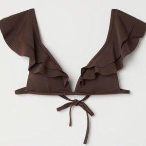 ***BRAND NEW*** H&M Bikini with ruffles